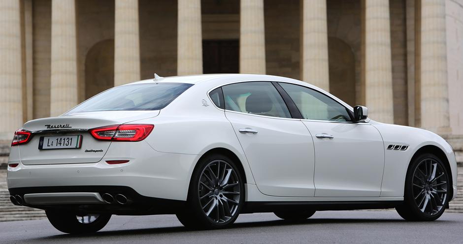 2013 Maserati Quattroporte (VI/M156) 3.0 Diesel (275 ...