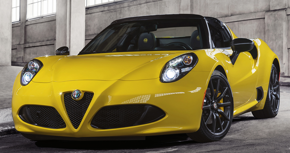 Alfa Romeo 4C Spider (I/960) 1.750 Turbo (240) - Фото 4