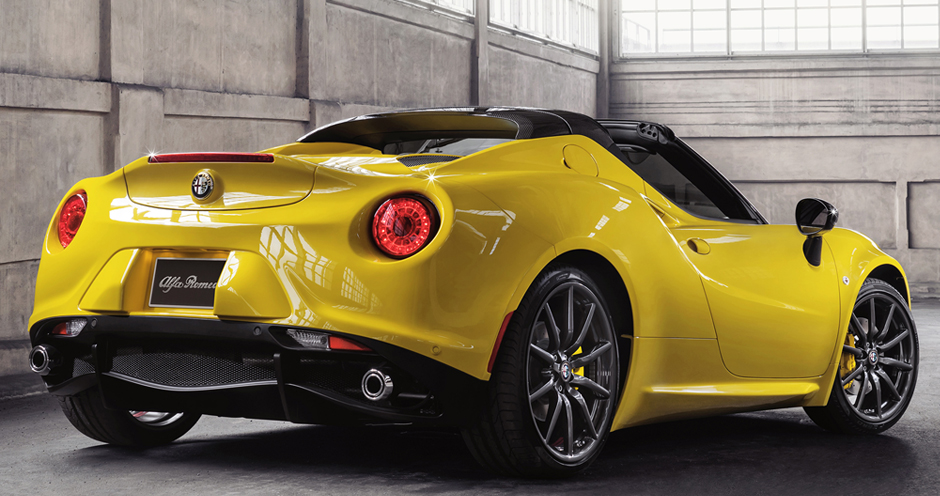 Alfa Romeo 4C Spider (I/960) 1.750 Turbo (240) - Фото 5