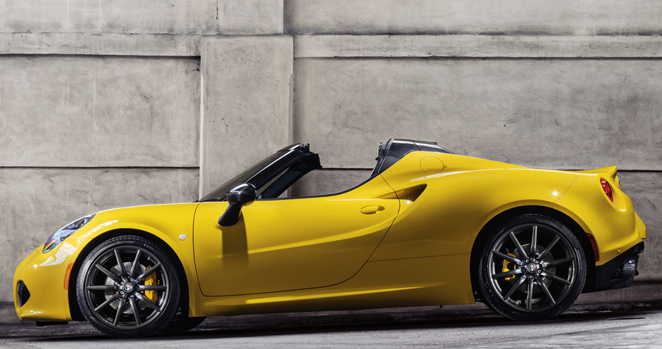 Alfa Romeo 4C Spider (I/960) 1.750 Turbo (240) - Фото 1